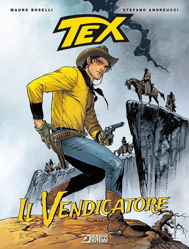 Tex Il Vendicatore Cover Con Copy
