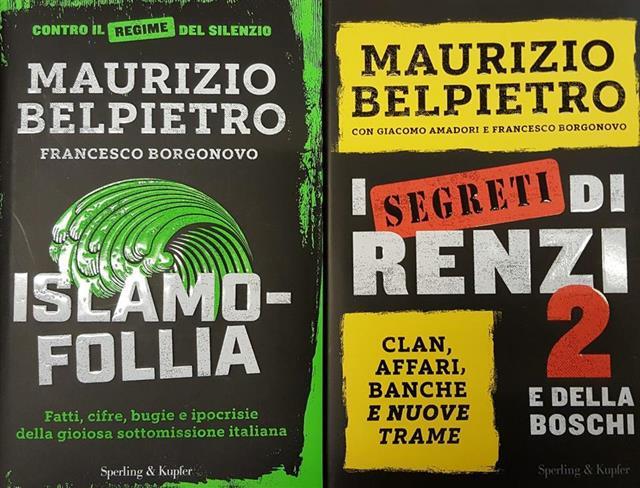 Belpietro Due Libri