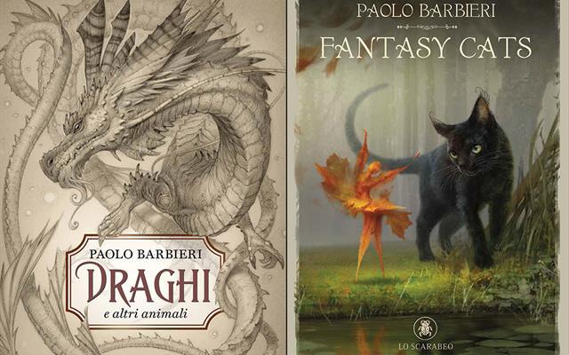 Fantasy Cats Draghi E Altri Animali Batbieri