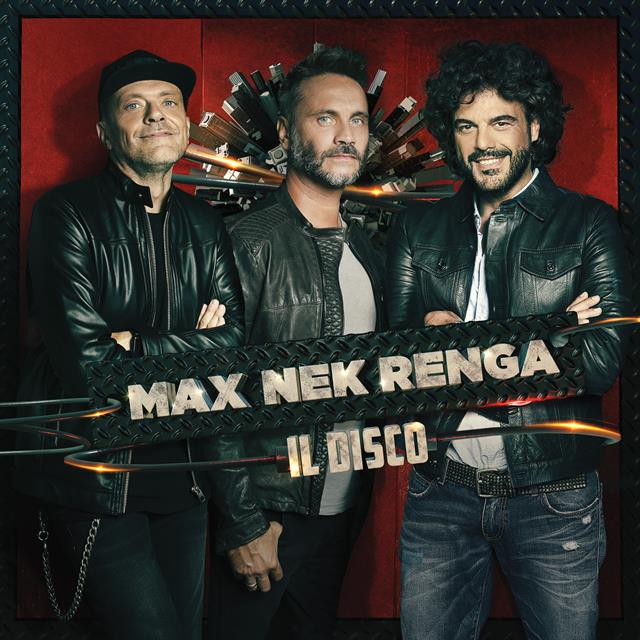 Cover Album MAX NEK RENGA Quadrata