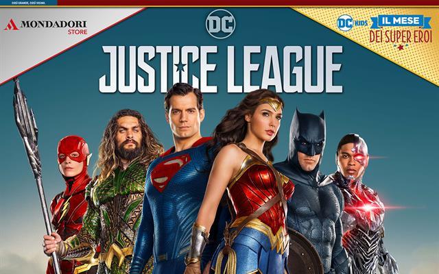 Justice League Backdrop 2X2